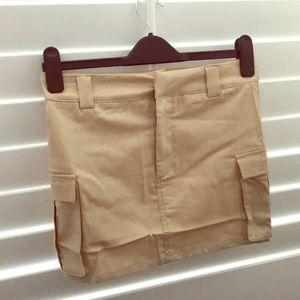 Cargo Mini Skirt
